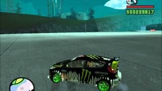 GTA San Andreas Ken Block's Ford Fiesta 2011