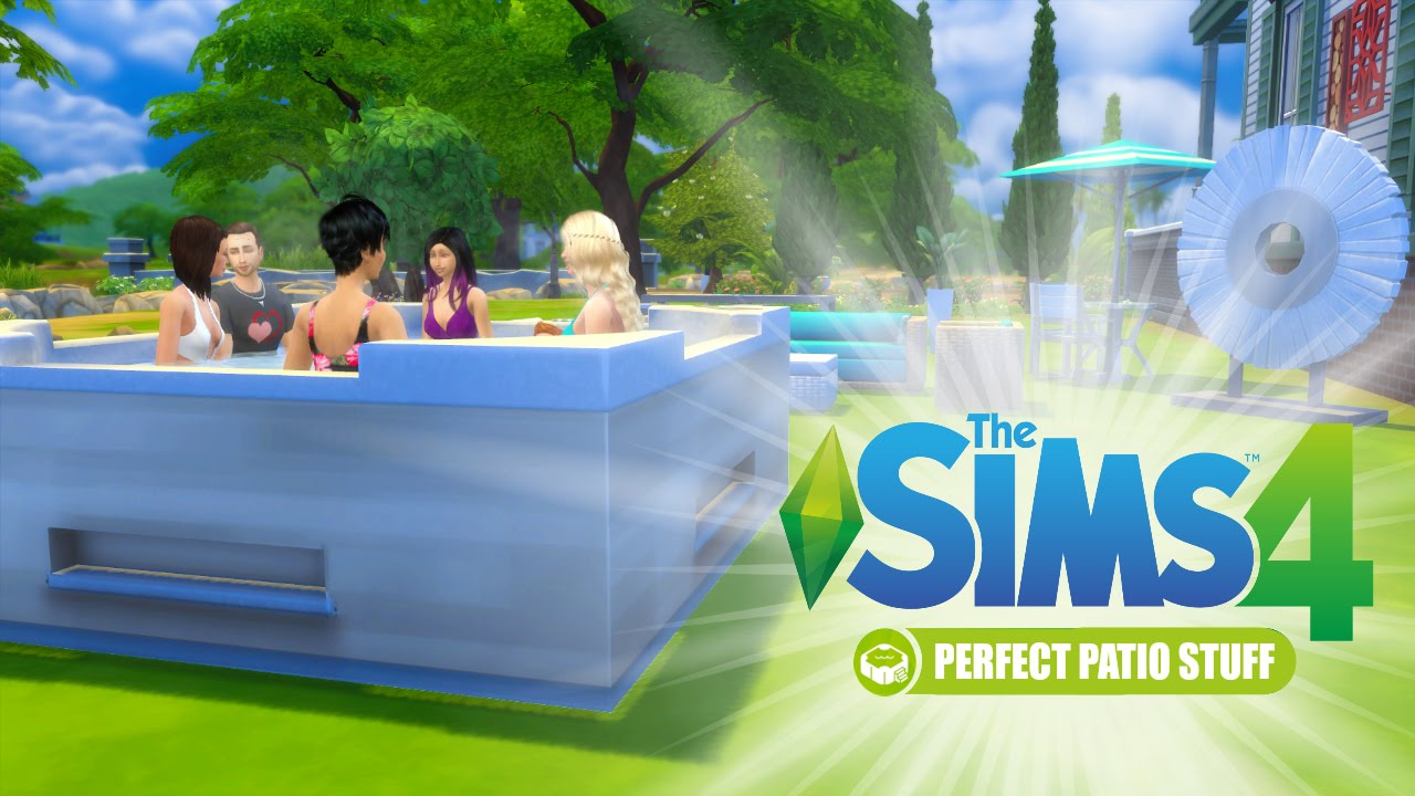 The Sims 4 : Perfect Patio Stuff Pack Review   Hot Or Not?