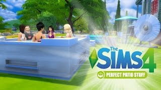 The Sims 4 : Perfect Patio Stuff Pack Review - Hot or Not?