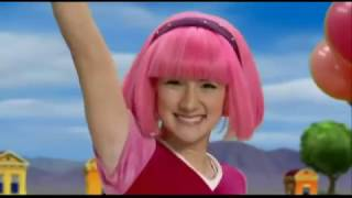 "LazyTown - Give The Best!!! ""Kiss the Rain"" Angie Gold Stephanie and Sportacus Homage"