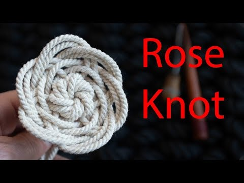 A beginners guide to a versatile Rose Knot
