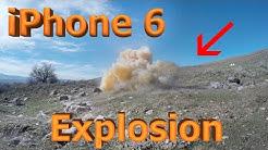 iPhone 6 vs Explosive Tannerite (4 POUNDS!!!)