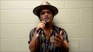 Gambar cover Bruno Mars' acceptance speech at the Teen Choice Awards 2013