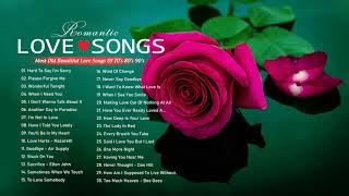 Most Old Beautiful Love Songs 70's 80's 90's ⋇ Best Romantic Love Songs Of 80's and 90's Playlist ⋇