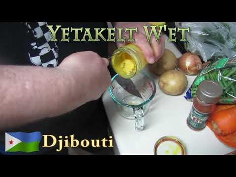 Worldly Treats With No Meats - Djibouti - Yetakelt W'et