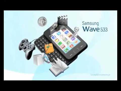 Comercial do Samsung Wave 533 (S5330) Bada Brasil