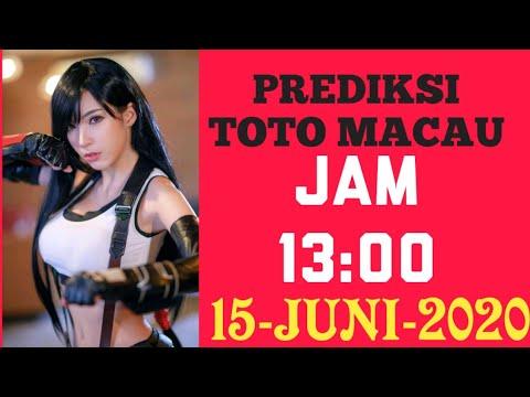 PREDIKSI TOTO MACAU HARI INI JAM 13:00 15 JUNI 2020 - YouTube