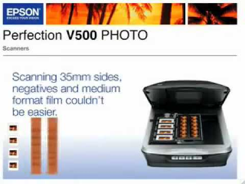 Epson Perfection V500 Photo Scanner 64 BIT Driver
