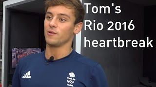 Rio 2016: Tom Daley on 'heartbreak' at Rio Olympics after failing to qualify for final