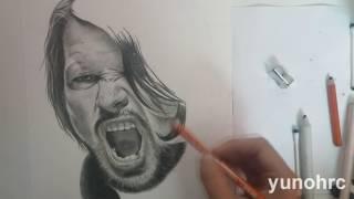 الرسم WWE هو واحد الهائل AJ Styles