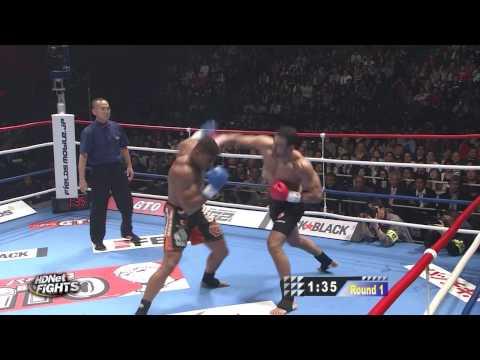 K-1 World Grand Prix 2009 Final: Alistair Overeem Vs Badr Hari (HD)