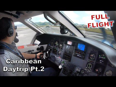 (FULL FLIGHT) Day In The Life Of A PC-12 Pilot. - Part 2 - GOPRO | Flight Vlog | ATC AUDIO