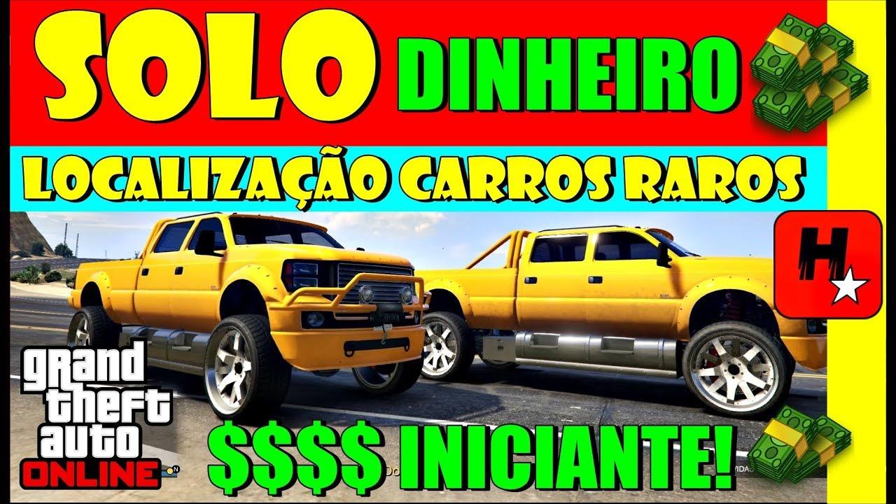 GTA 5 *SOLO* *Dinheiro Fácil!* Localização Carros Raros Tunados pela Rockstar! (GTA V MONEY GLITCH)