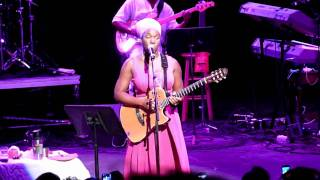 "India Arie - ""Brown Skin"" in Concert 6-18-11 Chene Park Detroit"