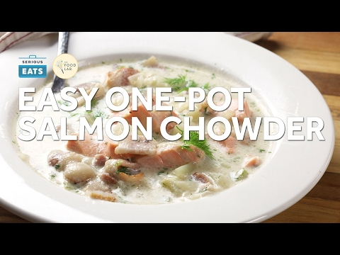 How To Make Easy One-Pot Salmon Chowder