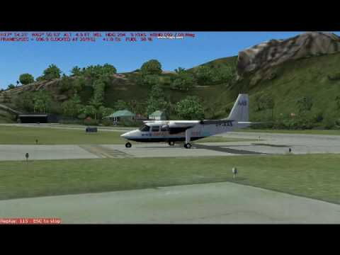 Anguilla Air Services St. Barths Landing and TakeOff
