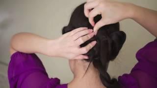 Как научиться плести косы самой видео