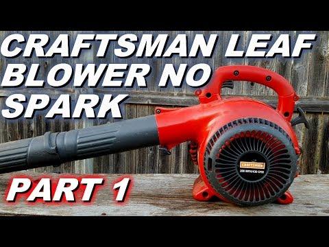 Craftsman Blower Won T Start Or Run No Spark Youtube