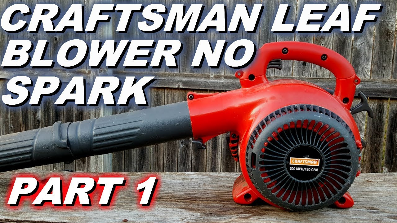 small resolution of craftsman blower won t start or run no spark