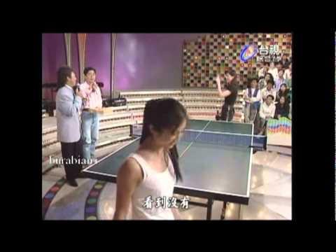 楊采妮 陳明真 比歌藝.桌球