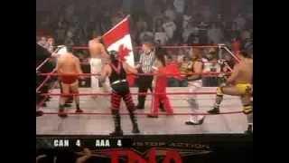 Team Canada vs Team Mexico (TNA)