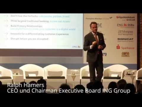 ING-CEO Ralph Hamers zur Digitalisierung der Finanzwirtschaft