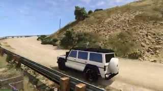 Grand Theft Auto 5 PC - V12 Jeep Off Off Roading - GTX 980 - 1080p HD