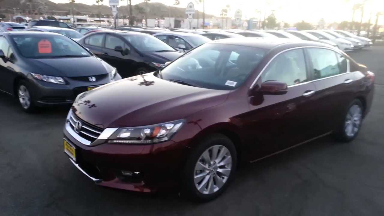 2014 Honda Accord Ex Sedan Basque Red Pearl Youtube