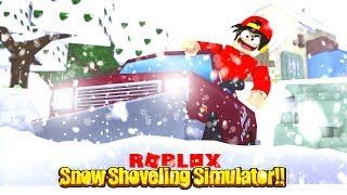 ROBLOX - SNOW SHOVEL SIMULATOR!!!