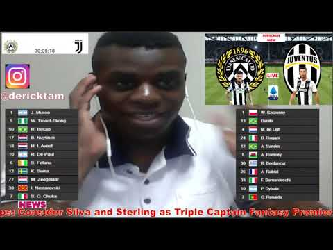 Udinese vs Juventus Live Football Match Today 2020 Serie A TIM Watch Along Stream Highlights Score