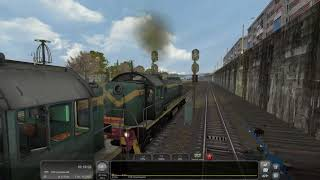 [Train Simulator 2018] Сценарий #8 | Маневры на ТЭМ2 по АО Гипс Кнауф [07/03/2018]