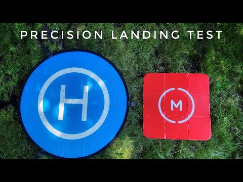 DJI Drones Precision Landing | Does The Landing Pad Make A Difference?