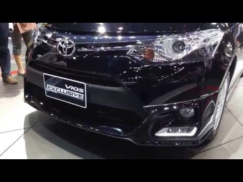 Toyota vios 2017 exclusive ภายนอก ภายใน
