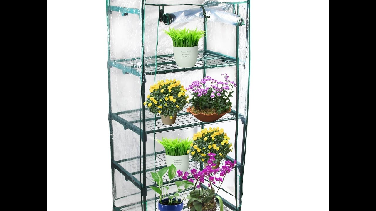 review kendal garden mini greenhouse 4 tier