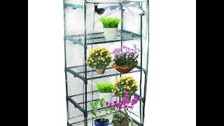 Review:  Kendal Garden Mini Greenhouse (4 Tier)