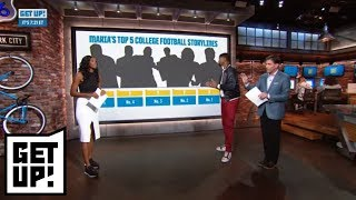 Maria Taylor's top 5 college football storylines for the upcoming season | Get Up! | ESPN