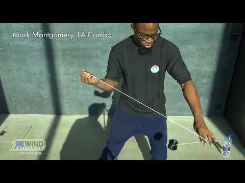 [Yo-Yo Players Trick] Mark Montgomery 1A Combo / マーク・モンゴメリー選手の1Aコンボ【ヨーヨー】