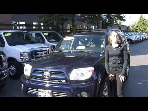 Virtual Walk Around Tour of 2006 Toyota 4 Runner Limited 4x4 at Titus Will Ford f40640a