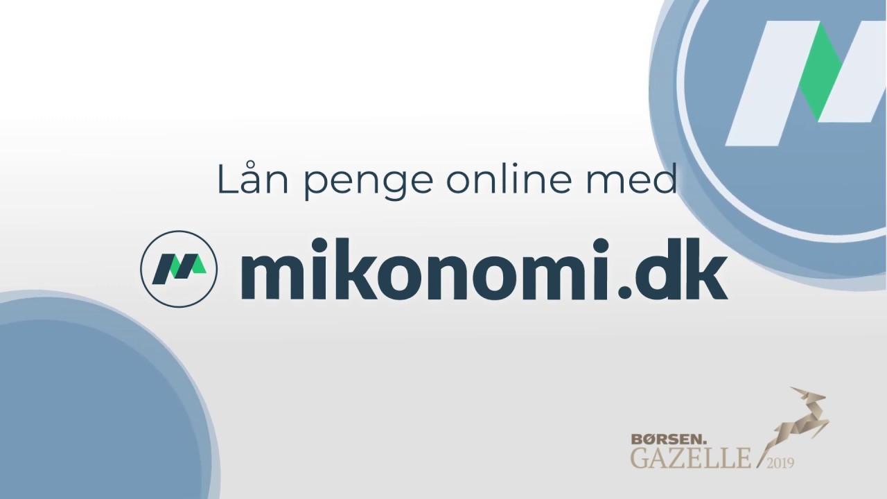 Lån penge nemt og hurtigt med Mikonomi.dk