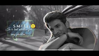 Sushant Singh Rajput Emotional Status Video ❤️| Car Scene of chhichore | WhatsApp Status| #subscribe