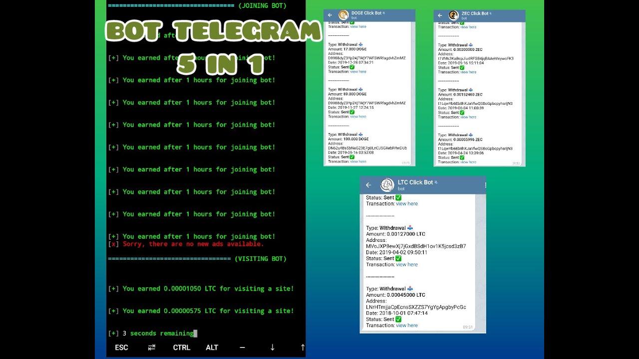 btc bot telegrama termux)