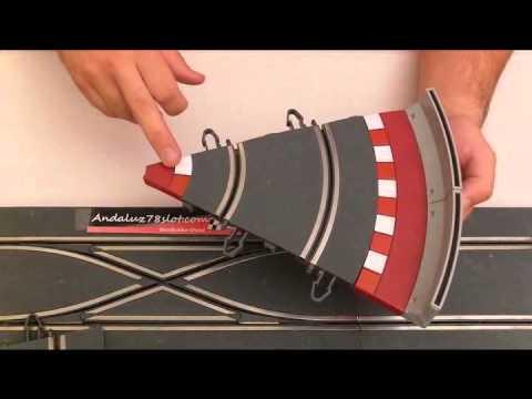 Tipos de Bordes de Pista Scalextric