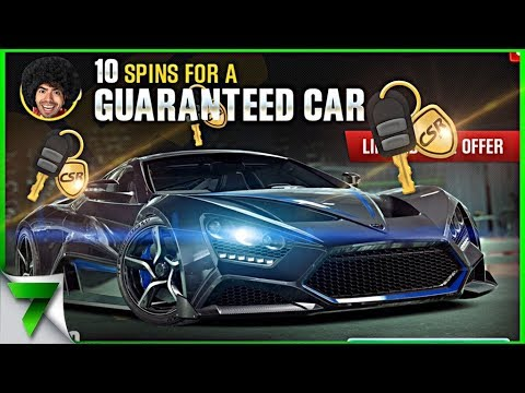 GOLD KEY CRATE OPENING ZENVO TS1 GT! | CSR Racing 2