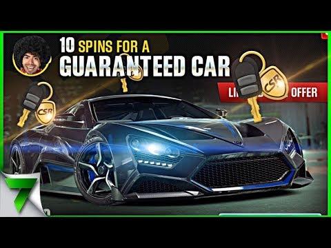 GOLD KEY CRATE OPENING ZENVO TS1 GT! | CSR Racing 2
