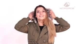 Куртка парка женская зимняя ПИСК сезона 16059 от компании МТФОРС