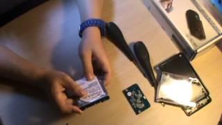 Comment démonter un disque dur et faire un trasfert de donnée.