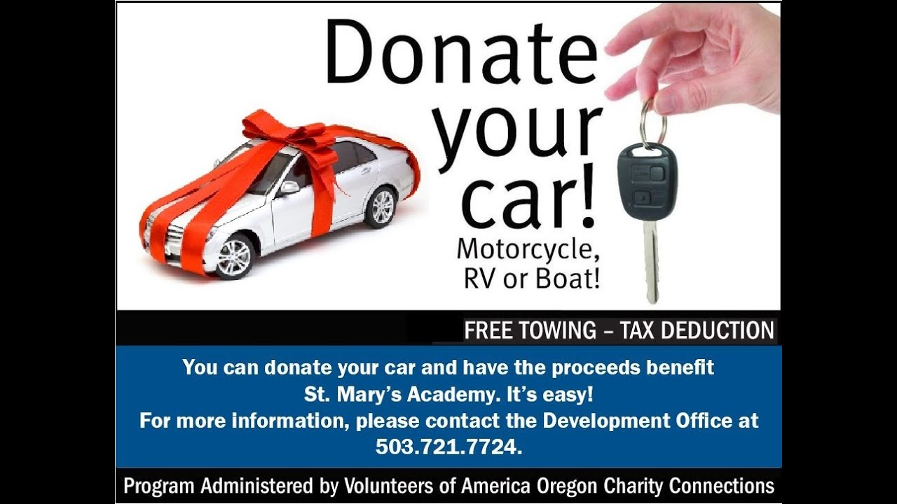 How To Donate Car To Charity