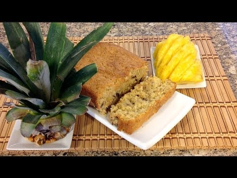 How To make Pineapple Bread-Pineapple Recipes-How To Core A Pineapple