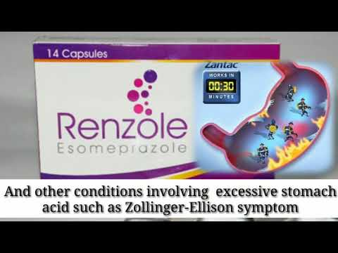 What Is Esomeprazole 40 Mg Used For?