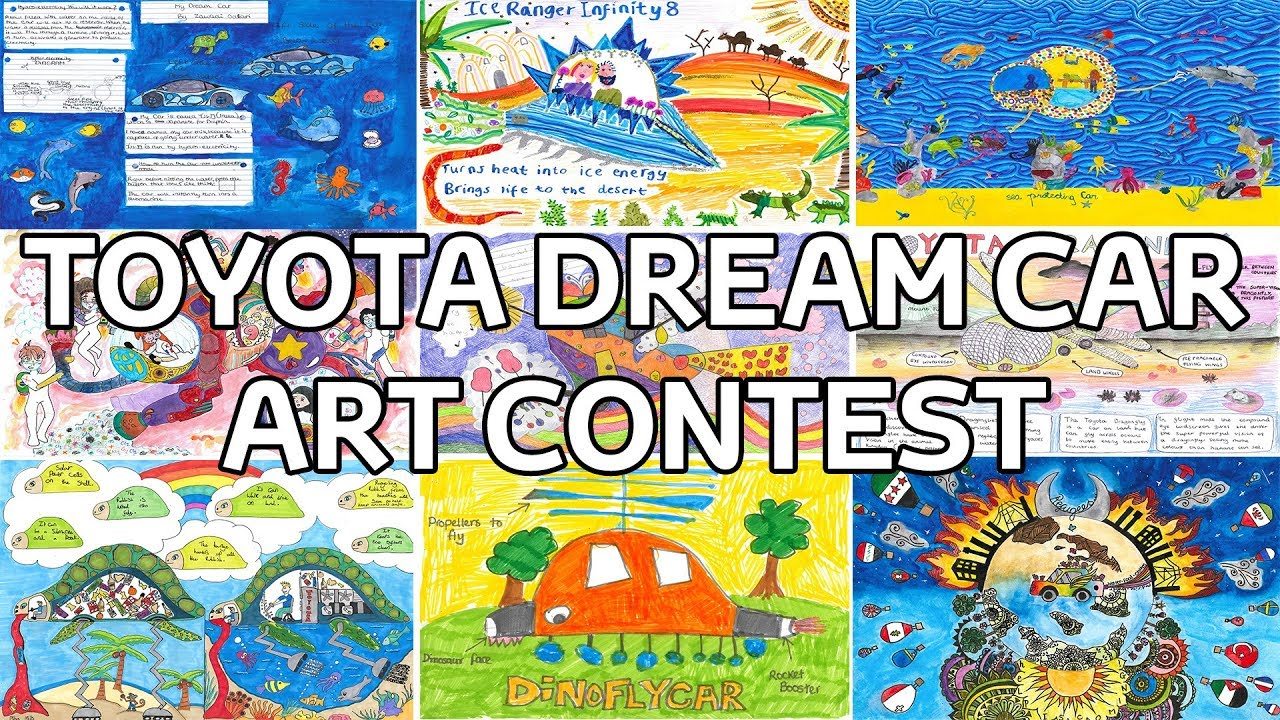 Toyota Dream Car Art Contest 2018 Youtube